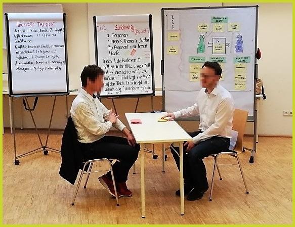 Beim Kommunikationstraining für Unternehmen sorgen wir für einen guten Mix aus Inputs und Übungen.